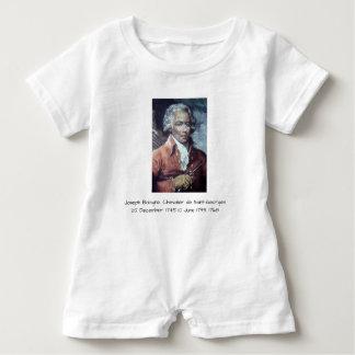 Macacão Para Bebê Joseph Bologne, Cavaleiro de Santo-Georges