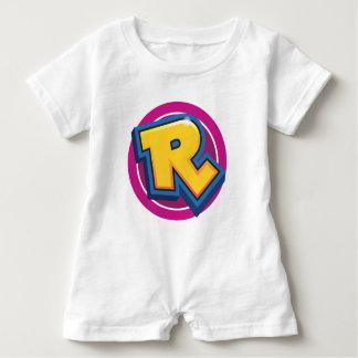Macacão Para Bebê Logotipo reduzido da ruptura