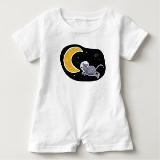 Macacão Para Bebê Macacão Romper para Bebê - Mouse In Space