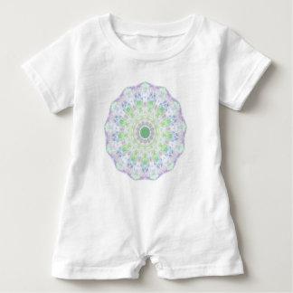 Macacão Para Bebê Mandala