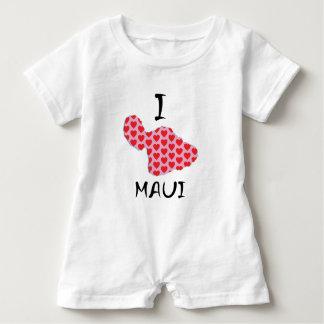 Macacão Para Bebê Mim coração Maui