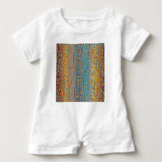 Macacão Para Bebê Multi fundo da cor