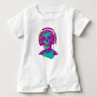 Macacão Para Bebê Música do zombi