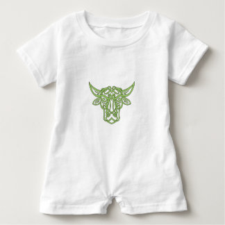Macacão Para Bebê Nó do céltico de Bull do Taurus