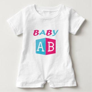 Macacão Para Bebê O bebê ABC obstrui