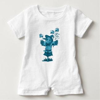 Macacão Para Bebê o espantalho dá desenhos animados da mensagem da