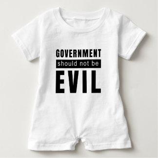 Macacão Para Bebê O governo não deve ser mau