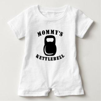 Macacão Para Bebê O Kettlebell da mamã