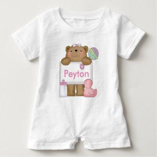 Macacão Para Bebê O urso doce de Peyton