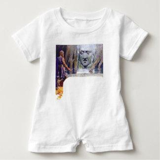 Macacão Para Bebê Odin na frente de Mimir