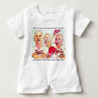 Macacão Para Bebê Os miúdos do feijão de Baldy do gancho vermelho