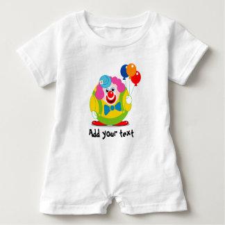 Macacão Para Bebê Palhaço de circo bonito dos desenhos animados do