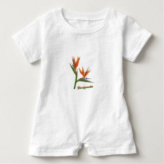 Macacão Para Bebê Pássaro de paraíso
