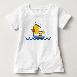 Macacão Para Bebê Pato do marinheiro