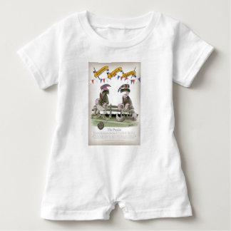 Macacão Para Bebê peritos do futebol de Inglaterra