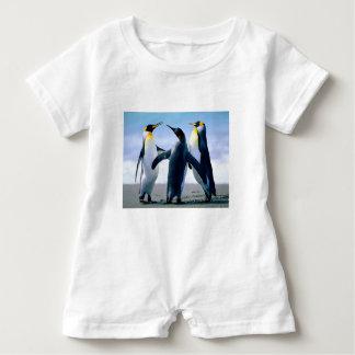 Macacão Para Bebê Pinguins