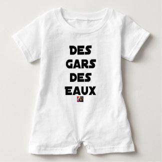 Macacão Para Bebê Rapazes das Águas - Jogos de Palavras - François