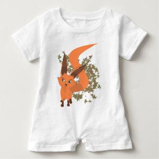Macacão Para Bebê Raposa