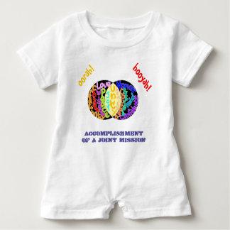 """Macacão Para Bebê """"Realização Romper de uma missão comum"""""""