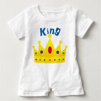 Macacão Para Bebê Rei, Romper do bebê