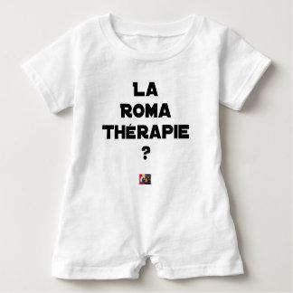 Macacão Para Bebê ROMA TERAPÊUTICA? - Jogos de palavras - François