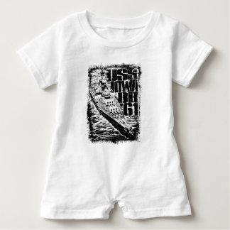 Macacão Para Bebê Romper do bebê de Iowa da navio de guerra