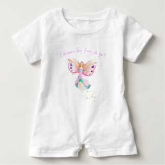 """Macacão Para Bebê """"Romper do bebê do amigo feericamente"""""""
