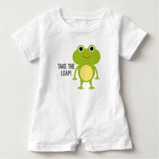 Macacão Para Bebê Romper do bebê do comedor de rãs