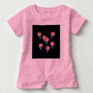 Macacão Para Bebê Romper do bebê dos balões de ar