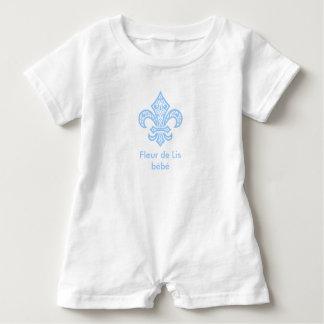 Macacão Para Bebê Romper do Bodysuit do bebê do bébé™ da flor de