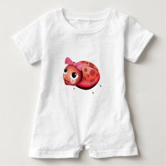 """Macacão Para Bebê """"Romper do caráter do joaninha do selo pequeno do"""