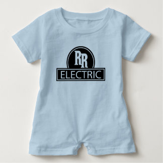 Macacão Para Bebê Romper elétrico do bebê do trilho rápido