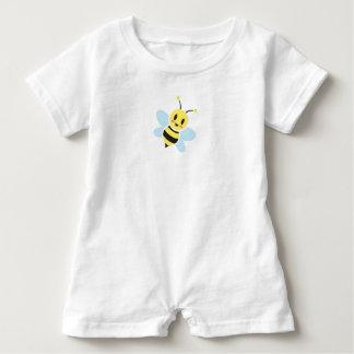 Macacão Para Bebê Romper feliz do bebê da abelha