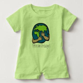 Macacão Para Bebê Romper futuro do bebê do cambiador do mundo
