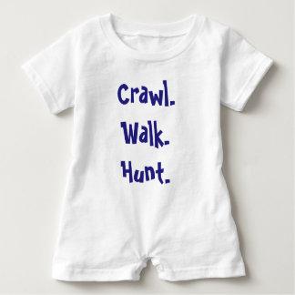 Macacão Para Bebê Romper infantil moderno da tipografia