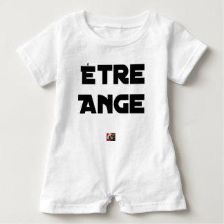 Macacão Para Bebê SER ANJO - Jogos de palavras - François Cidade