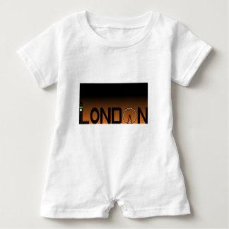 Macacão Para Bebê Skyline de Londres