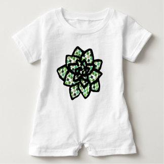 Macacão Para Bebê Succulent pequeno