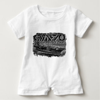 Macacão Para Bebê T-shirt do Romper do bebê de Carl Vinson do