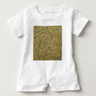 Macacão Para Bebê textura secada do tomilho