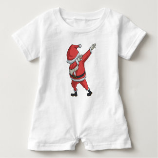 Macacão Para Bebê Toque ligeiro engraçado do Natal do t-shirt de