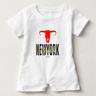 Macacão Para Bebê Touros da Nova Iorque de NYC por VIMAGO