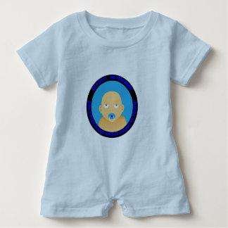 Macacão Para Bebê Um bonito, engraçado, bebé