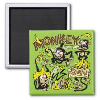 Macaco - Bananarchy! Ímã Imã