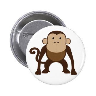 Macaco Bóton Redondo 5.08cm