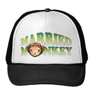Macaco casado bonés