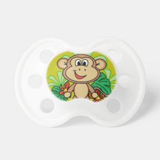 macaco chupeta para bebê