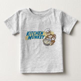 Macaco da cozinha - bebê tshirts