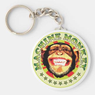 Macaco da máquina chaveiros