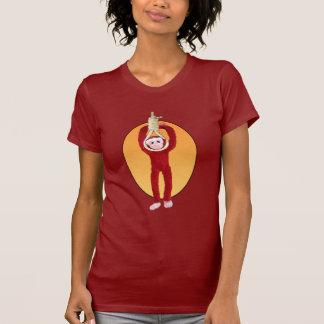 Macaco da reunião camiseta